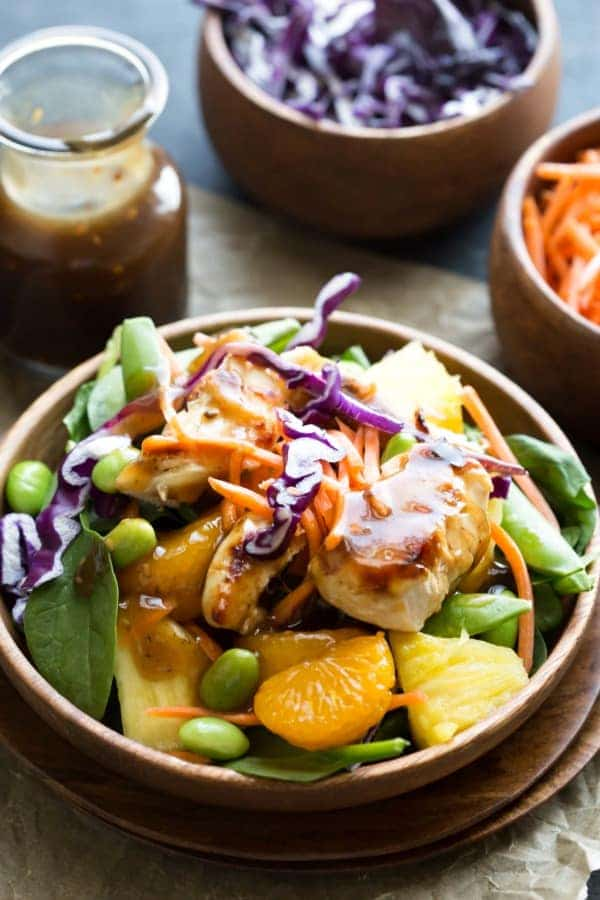 Teriyaki Chicken Salad