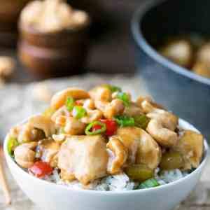 Easy Cashew Chicken Recipe