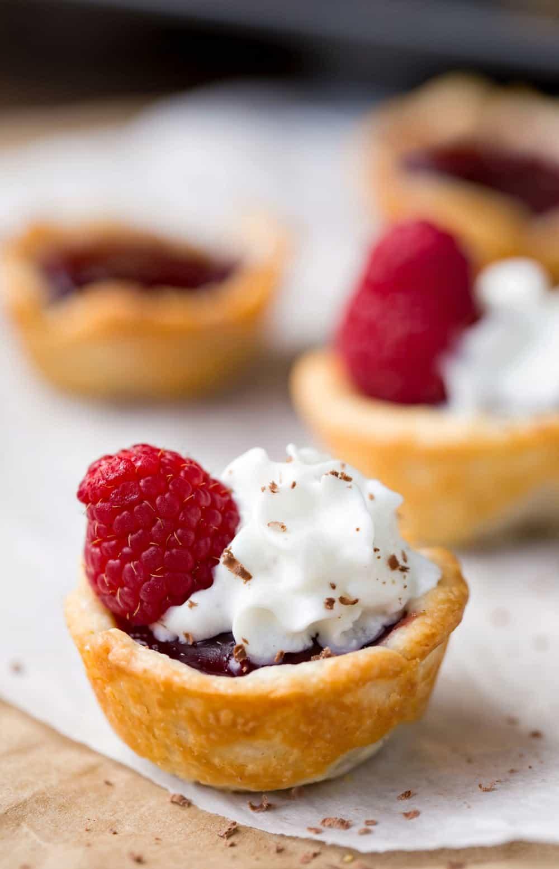 Raspberry Tassies