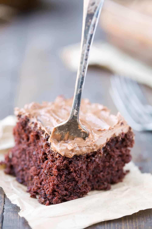 Chocolate Mashed Potato Cake