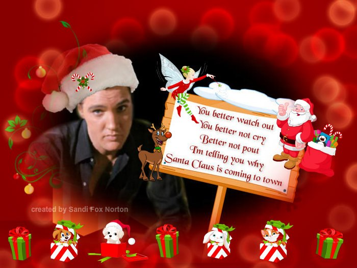 Elvis Christmas Photos And Banners WwwIHeartElvisnet