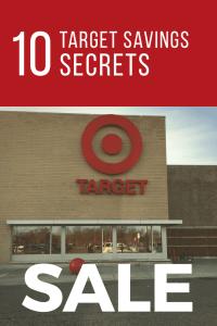 10 Target Savings Secrets