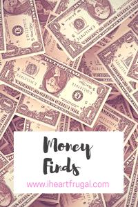 Money finds