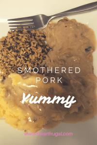 Smothered pork