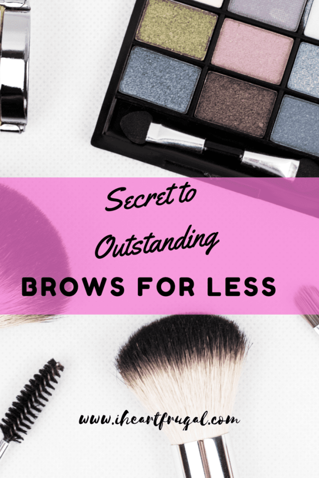 Secret to Outstanding Brows For Less