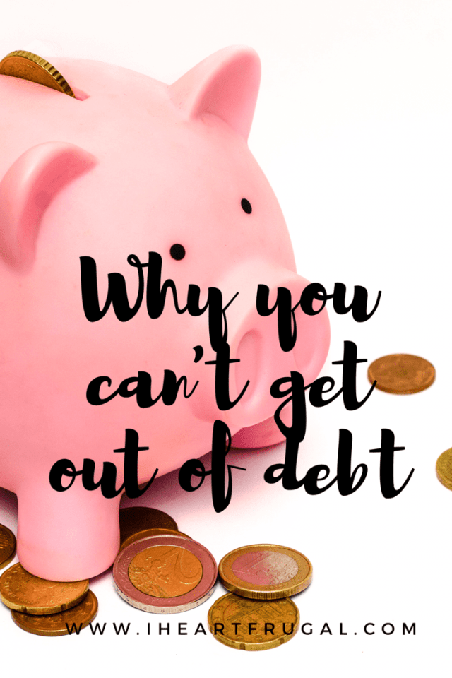 Are you drowning in debt? Find out why and what you can do about it.