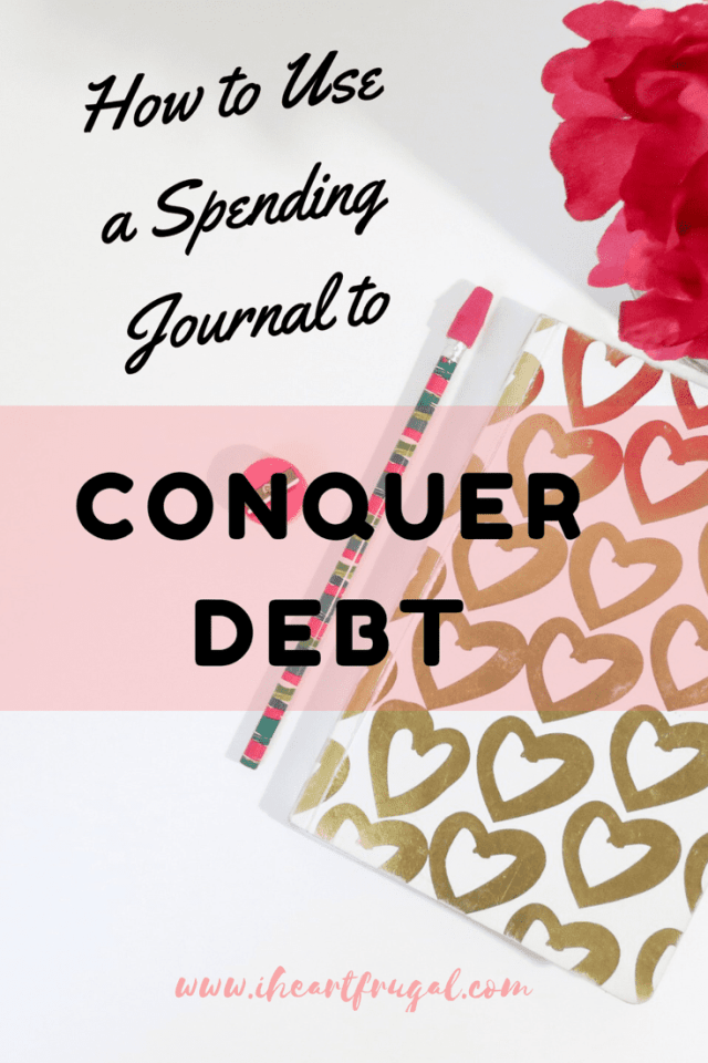 How to use a spending journal to conquer debt