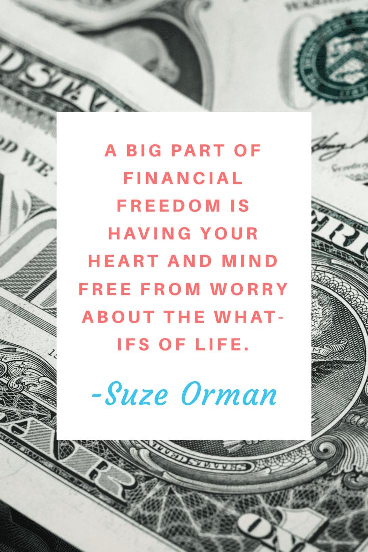 Suze Orman   Money Quote