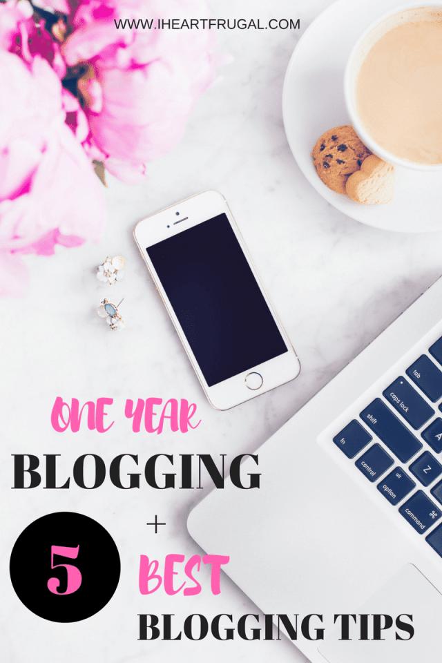 One Year Blogging + 5 Best Blogging Tips