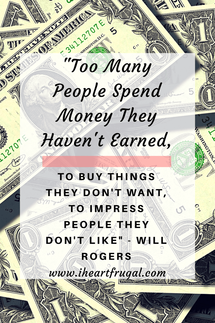 Will Rogers   Money Quote
