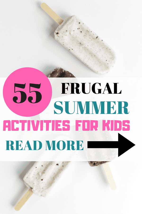 55 Summer Activities for Kids That are Frugal or Free - popsicle- green and pink letters