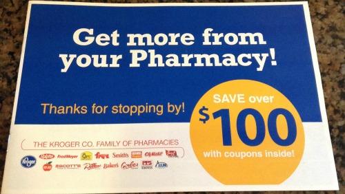 kroger pharmacy booklet