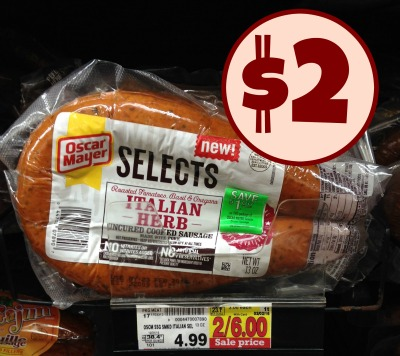 11 Oscar Mayer Selects Dinner Sausage Coupon 2 besides Todays Top New Coupons Savings From Nathans Hot Dogs Snickers Tazo More besides Oscar Mayer as well Walmart Oscar Mayer Selects Dinner Sausage 1 89 likewise Oscarmayerselects. on oscar mayer selects dinner sausage coupon