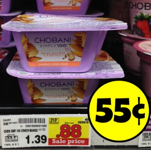 Chobani Greek Yogurt Simply 100 - Just 55¢ At Kroger-