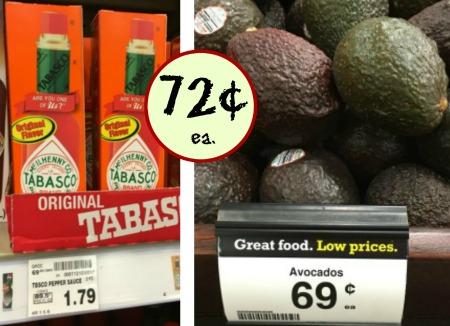 Tabasco + Two Avocados Coupon - As Low As 72¢ At Kroger