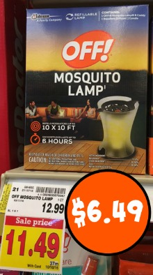 Off Mosquito Lamp As Low As 6 49