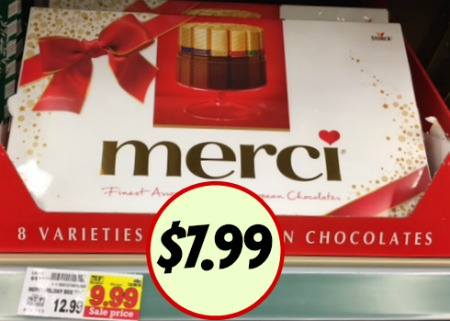 merci Chocolates - Save $5 (Just $7.99) At Kroger