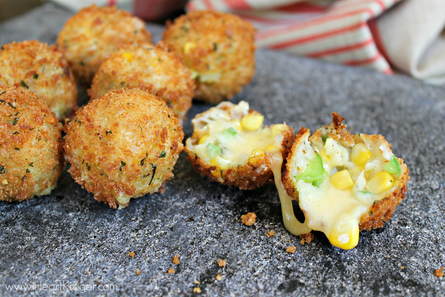 Cheesy Corn Balls