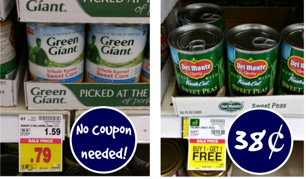 Del Monte Canned Vegetables As Low As 38 At Kroger