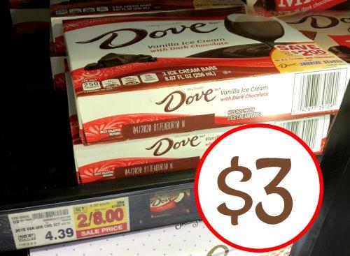 Dove ice cream coupons 2018