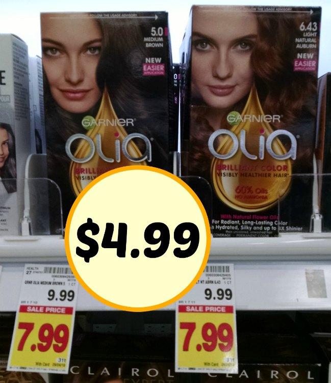 New Garnier Olia Haircolor Coupon 499 At Kroger