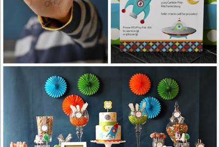 50 Awesome Boys  Birthday Party Ideas   I Heart Naptime Neverland Party via The Party Dress