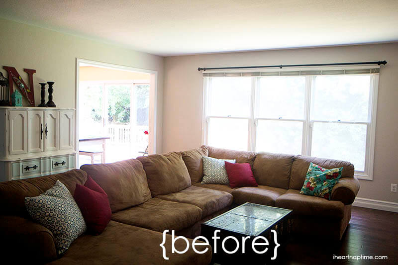 Living Inexpensive Makeovers Room