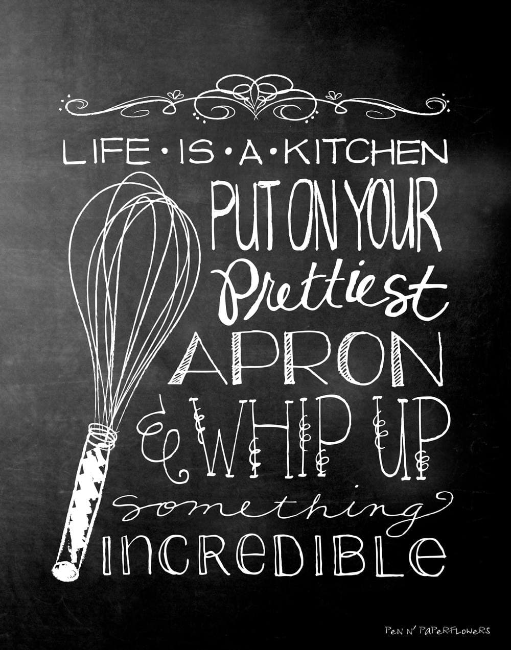 Free Kitchen Art Printable I Heart Nap Time