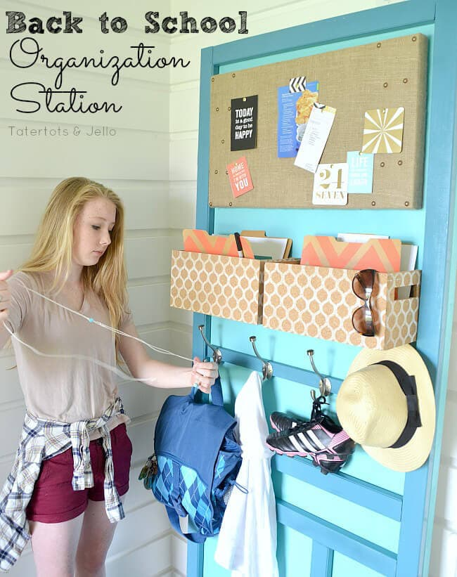 Back To School Outfit Organizer Via Here Comes The Sun