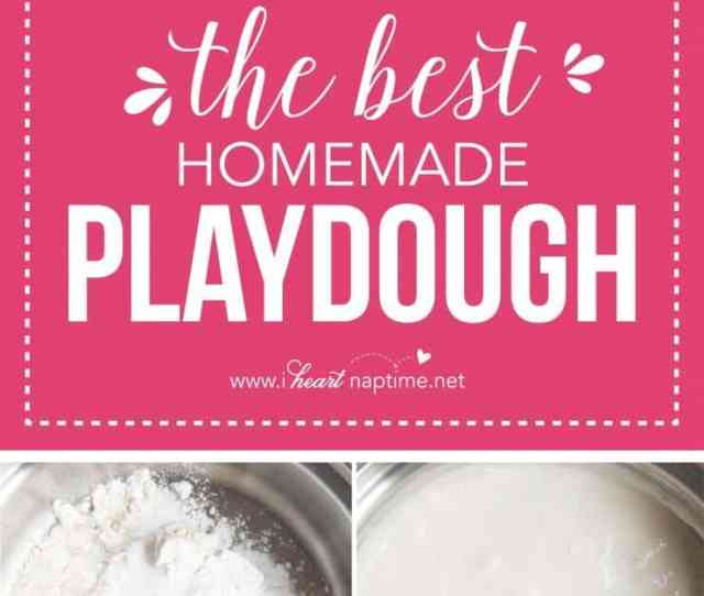 The Best Play Dough Recipe Make In Less Than  Minutes For Under A