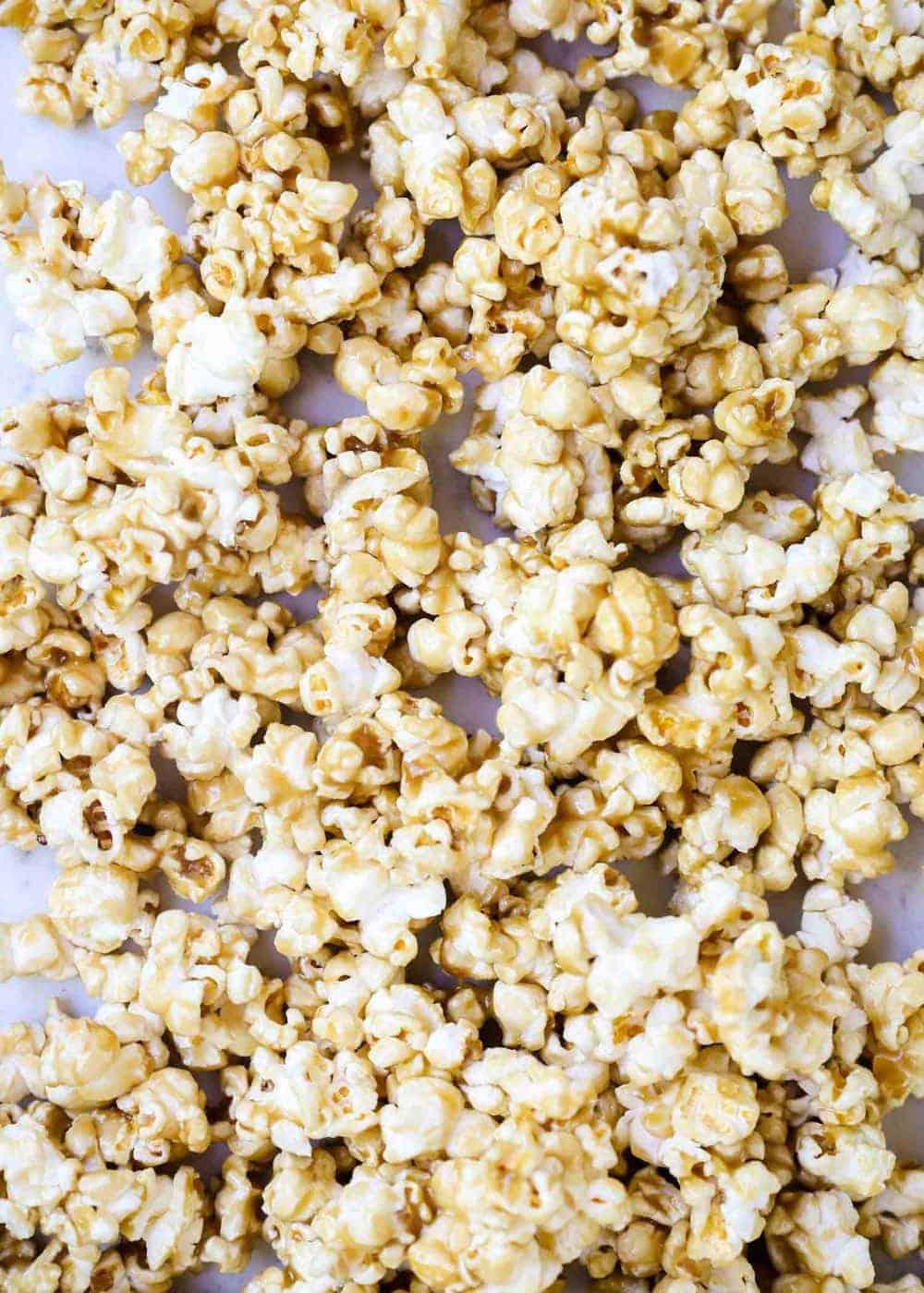 easy microwave caramel corn 10 minutes