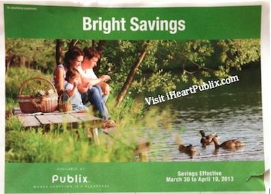 publix bright savings adv Publix Grocery Advantage Buy Flyer Bright Savings (3/30 to 4/19)