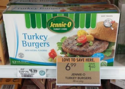 jennie o publix Jennie O Coupon   Turkey Burger $2 Per Pound At Publix!