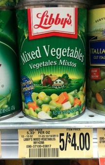 libbys publix Cheap Canned Vegetables At Publix (Allens & Libbys)