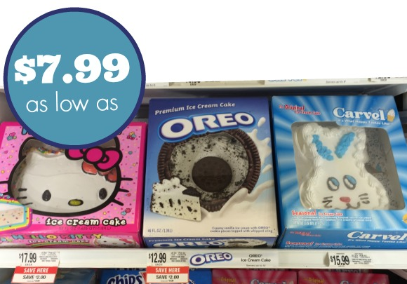 Ice Cream Cake Coupons Cheap Treats At Publix