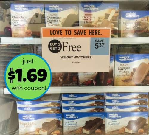 weight watchers frozen novelties coupons
