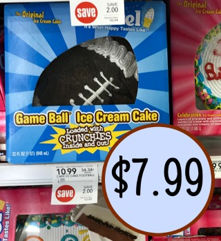 Carvel Game Ball Ice Cream Cake Just 7 99 At Publix