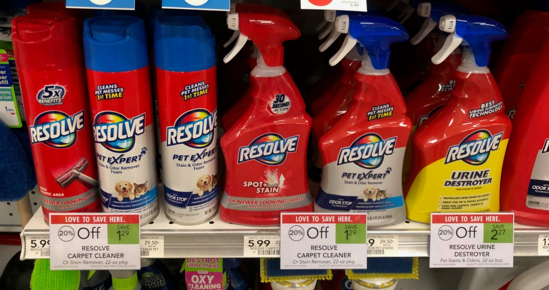 Resolve Carpet Cleaner As Low As 4 29 At Publix