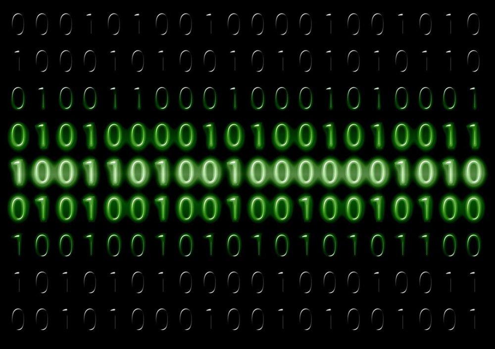 binary data storage system