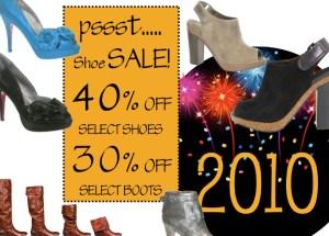 Denim and Lace - 2010 Shoe Sale