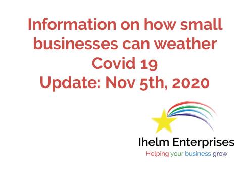 Ihelm Enterprises Covid 19 Updates Nov 5