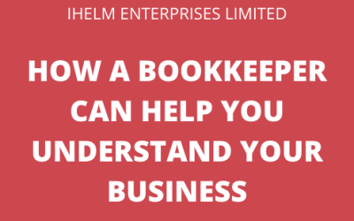 How can a bookkeeper help me understand where my business is at throughout the year and where I have room to grow?