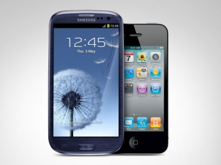 iPhone-Galaxy S3
