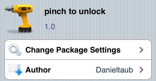pinch-to-unlock