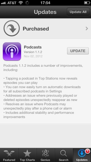 podcasts-update