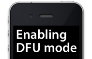 Learn How To Put  Your iPhone Device Into DFU Mode