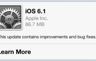 iOS 6.1 already inatalled on 22 percent of all iDevices