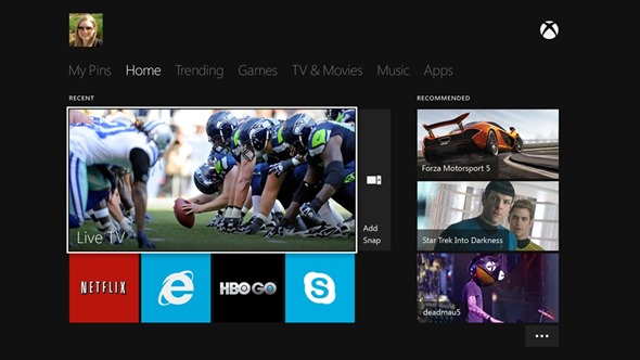 Xbox-One-Home-UI