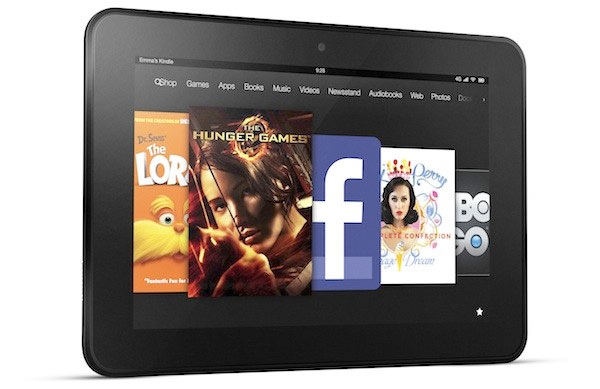 Amazon Kindle Fire HDAmazon Reveals 7 inch and 8.9 inch Kindle Fire HD tablets