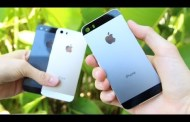 Overview of graphite iPhone 5S and iPad mini 2 on video